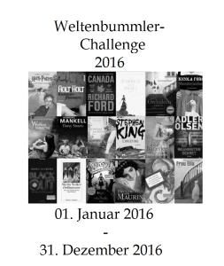 Weltenbummler-Challenge 2016