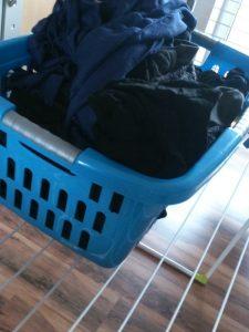 Hausarbeit - Wäsche aufhängen