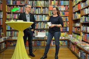 Lesung Helmut Scharner in der Buchhanldung Herta Widhalm