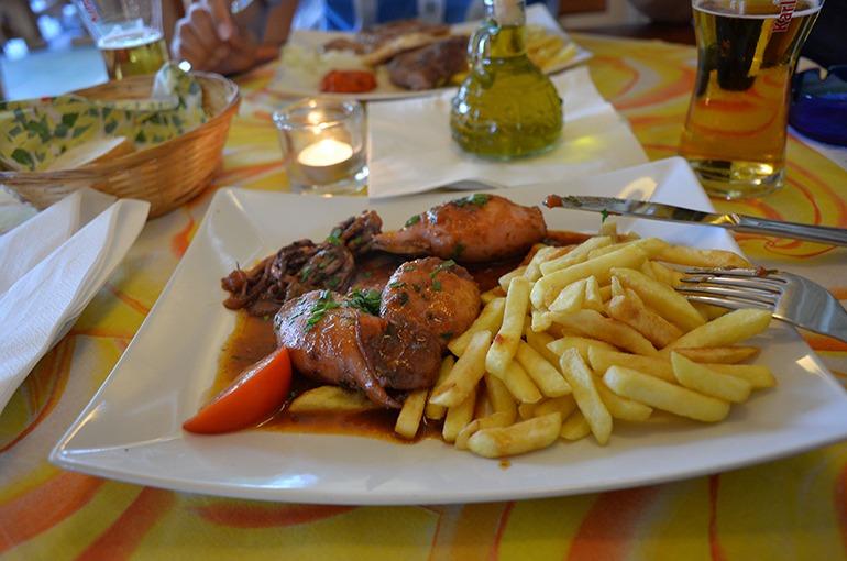 exzellentes Essen im Restaurant Riviera