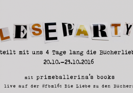 Leseparty 2016