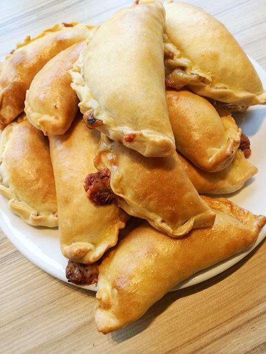 12 Empanadas entstehen aus diesem Rezept