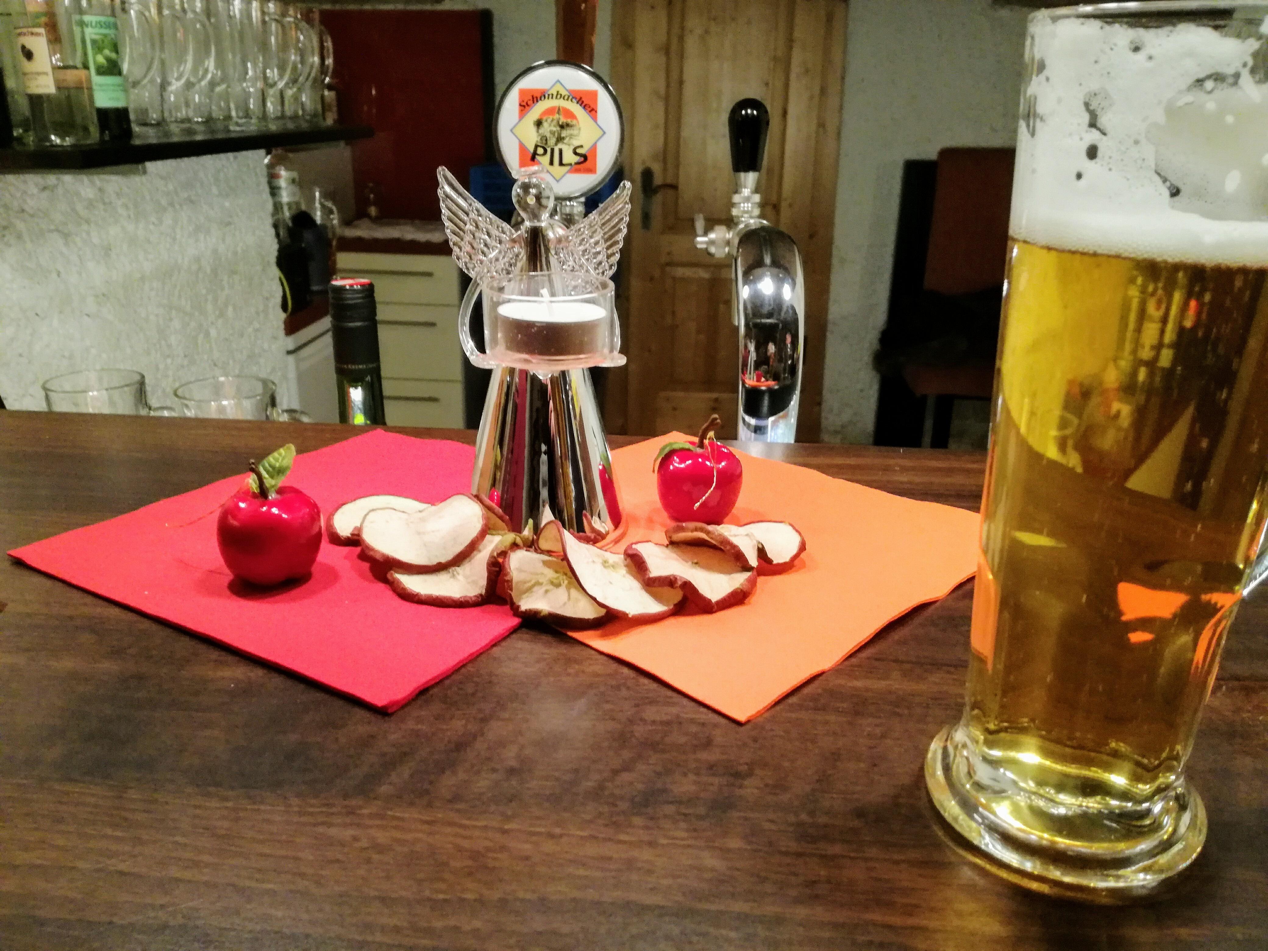 Schönbacher Pils im Biergwölb