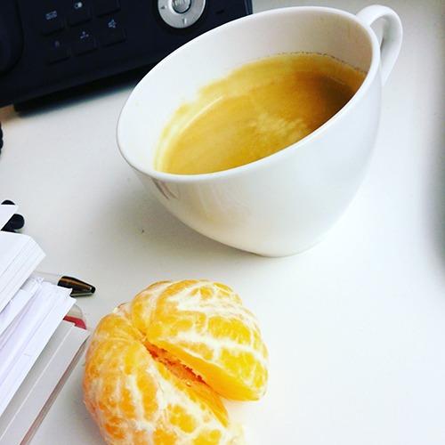 Coffee und Manderine