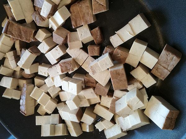 Geräucherte Tofu