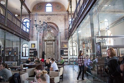 Synagoge Cafe in Trnava