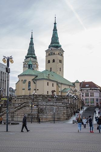 Dreifaltigkeitskirche in Zilina