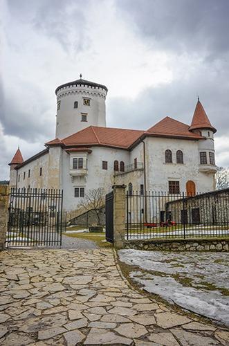 Schloss Budatin - Hrad Budatin