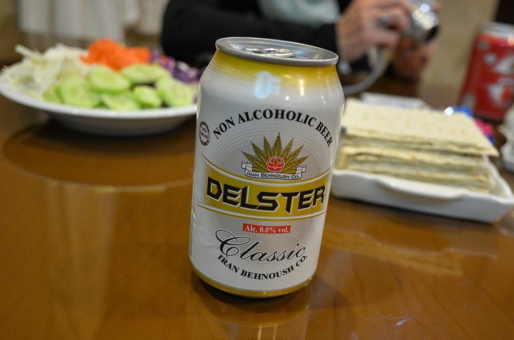 Alkoholfreies Bier mit Malz Geschmack im Iran