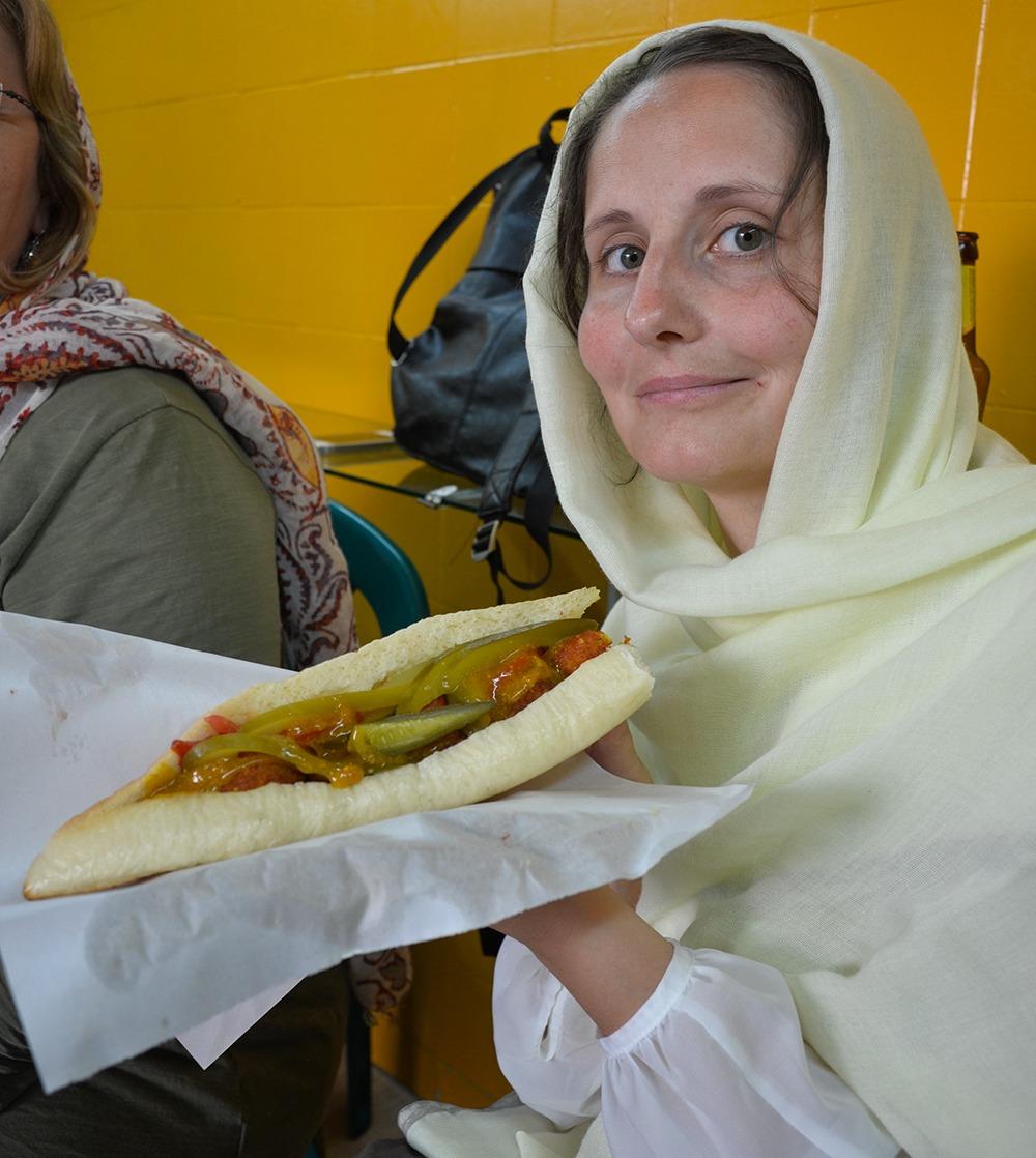 Falafel in Susa