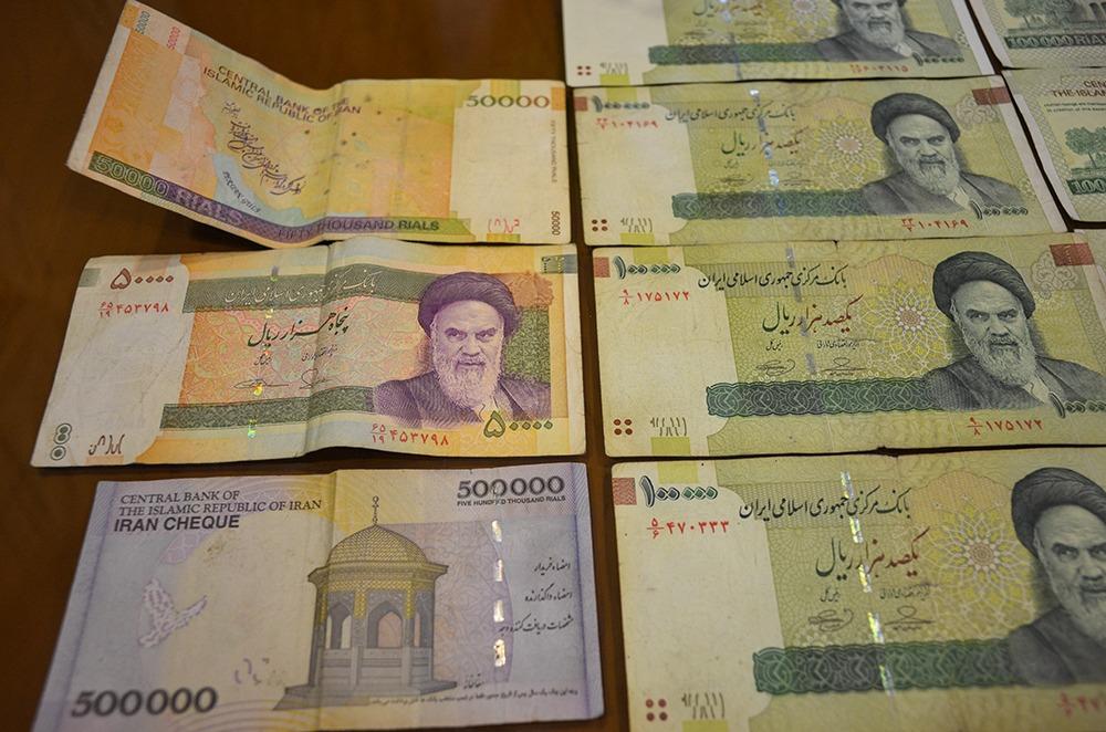 Rial oder Tuman - iranische Geldscheine