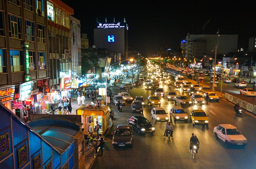 Der iranische Straßenverkehr