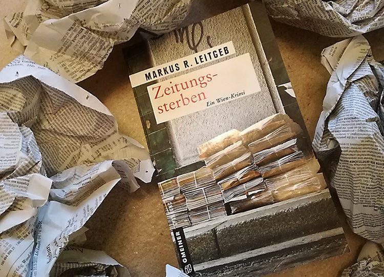 Zeitungssterben - Markus R. Leitgeb