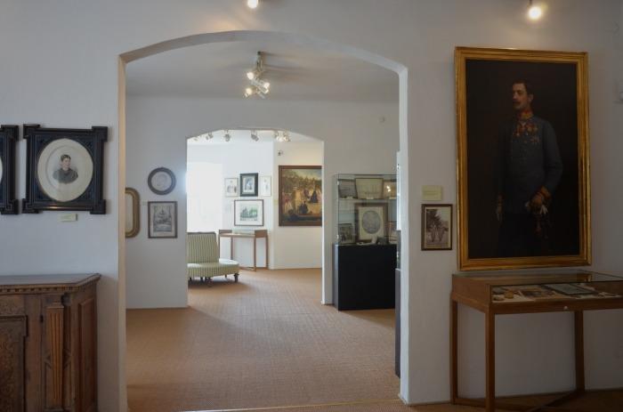Museum, Innenräume im Schloss Artstetten