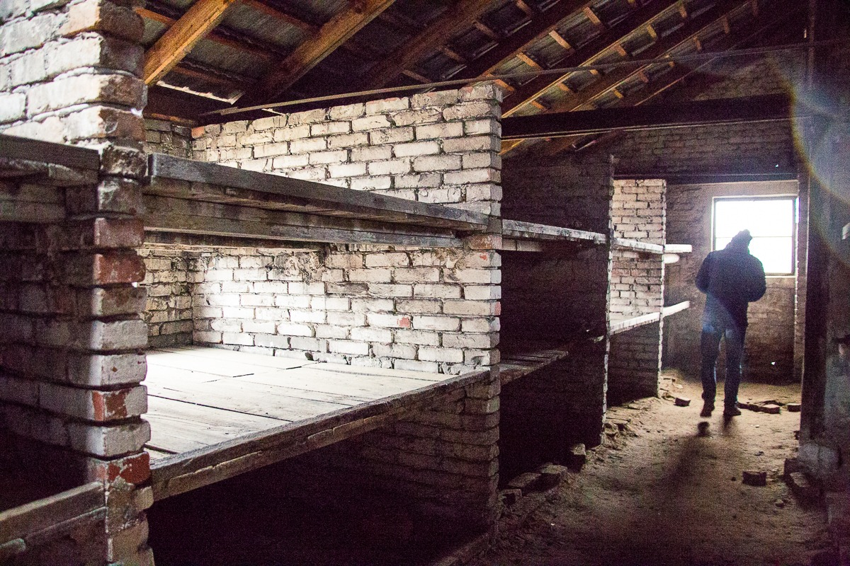 Birkenau gemauerte Baracken