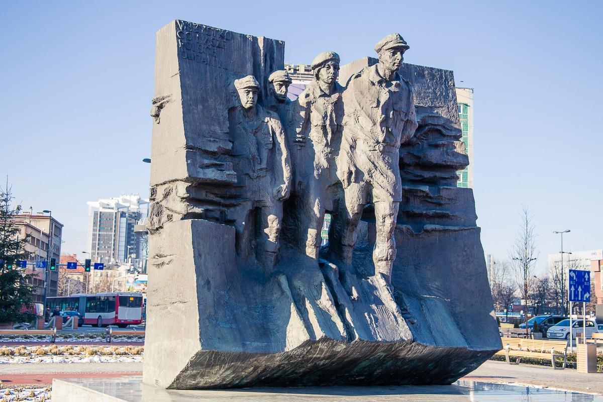 Denkmal Zweiter Weltkrieg Katowice Rynek