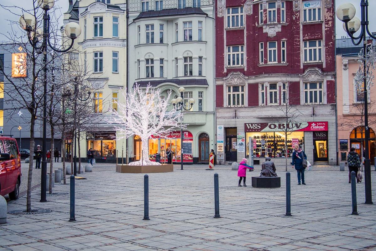 Platz in Ostrava